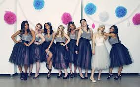 tulle skirt bridesmaid wedding trends we bridesmaids in skirts wedding by
