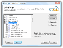 Copy Table Mysql Access To Mysql