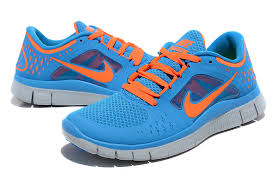 Nike Light Light Blue And Orange Nike Free Womens Mens Health Network