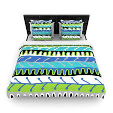 Duvet Cover Teal Buy Duvet Cover Online At Best Price Kess Inhouse