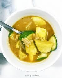 butternut squash soup with orzo u2022 emily j goodman