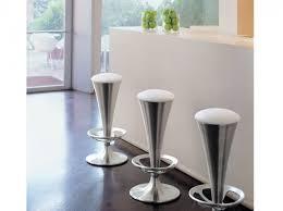 chaise de bar cuisine futuristic furniture tabouret de bar design simili cuir interior