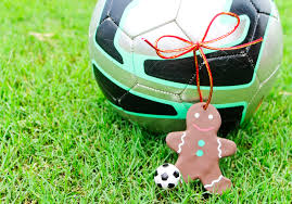 soccer christmas ornament gingerbread man soccer christmas