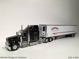 kenworth w900 model truck diecast replica of central refrigerated service kenworth w u2026 flickr