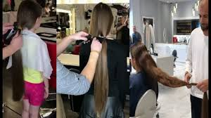 hair makeover videos extreme hair makeover long to short long hair cutting videos