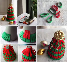 diy ribbon christmas tree diy craft projects