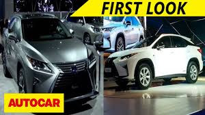 first lexus lexus launched in india first look autocar youtube