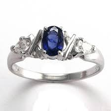 white gold mothers rings anzor jewelry 14k white gold three sapphire diamond x s