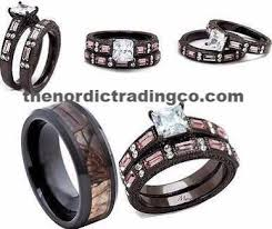 camo wedding ring camouflage wedding ring set men s band 7 14 engagement ring