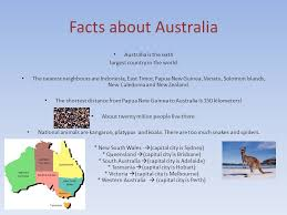 the commonwealth of australia facts about australia australia is