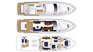 luxury yacht floor plans princess 72 mykonos motor yachts