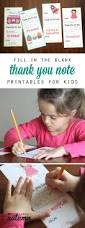 Free Thank You Letter Template 36 Best Printable Kids Thank You Notes Images On Pinterest Kids