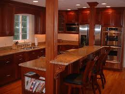 kitchen island with granite top and breakfast bar island with cook top and breakfast bar we then installed a stove