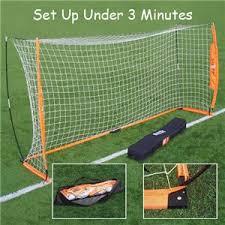 Best Soccer Goals For Backyard Bownet 6 U0027x12 U0027 Portable Soccer Goal Soccer Equipment And Gear