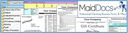 House Cleaning Estimate Form by House Cleaning Business Forms Customizable Templates Cleaning