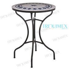 ceramic tile top patio table round ceramic tile top patio bistro table ceramic tile that looks