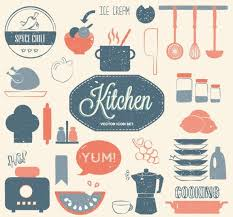 Kitchen Design Elements Free Vintage Kitchen Design Elements Vector Titanui