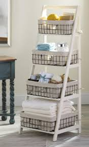 Wooden Storage Shelf Designs by Best 20 Ladder Storage Ideas On Pinterest U2014no Signup Required