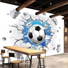 football bedroom wallpaper rooms