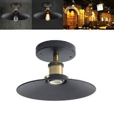Edison Ceiling Light with E27 Loft Vintage Industrial Copper Edison Sconce Wall Ceiling
