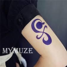 one piece tattoo picture one piece nami cosplay tattoo sticker tangerine pinwheel cross tatoo
