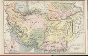 Map Of Ancient Middle East by Hipkiss U0027 Scans Of Old Middle East Maps