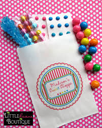 personalized party favor bags personalized candy bags candy favor bags candy buffet bags
