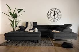 Sofa With Chaise Lounge by Lynton 2pce Rhf Chaise Lounge In Charcoal Sky Fabric U2013 Our