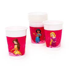costo bicchieri di plastica principesse disney 8 bicchieri di plastica