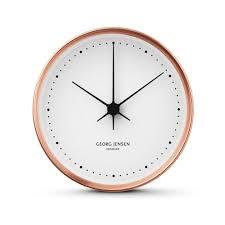 amazon com georg jensen koppel 22 cm wall clock copper with