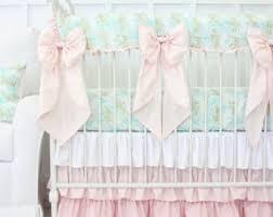 Pastel Crib Bedding Pastel Baby Bedding Etsy