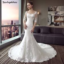 lace mermaid wedding dresses darlingoddess backless lace mermaid wedding dresses luxury hafl