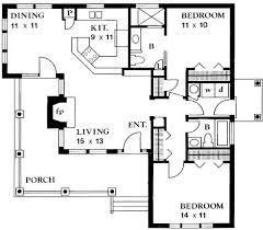 plans for cottages country style house plan 2 beds 2 00 baths 1065 sq ft plan 140