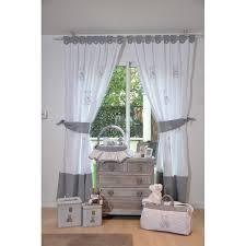 tenture chambre bébé rideau chambre bebe etoile idées décoration intérieure farik us