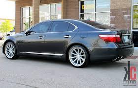 lexus ls460l tires kc trends showcase 20 vossen vvscv1 machined silver w nitto