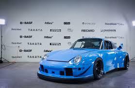 1991 porsche 911 turbo rwb body kit lol ruf chassis and porsche