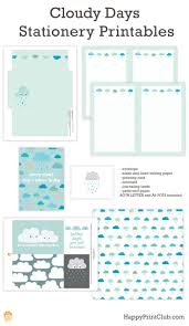 letter writing paper printable 3204 best printables images on pinterest free printables cloudy days stationery printables on happyprintclub com