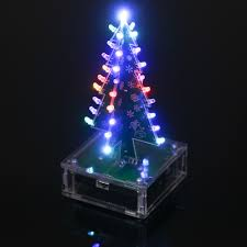 diy colorful easy making led light acrylic christmas tree with