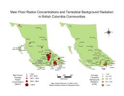 Map Of Bc Radon