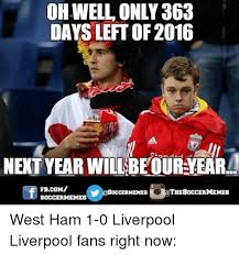 Soccer Memes Facebook - oh well only 363 days left of 2016 next year will beour veara