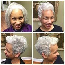 african american hairstyles for grey hair love this i think i want to try it black hairstyles