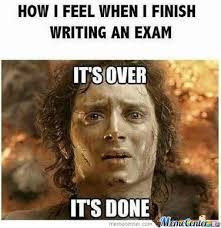 Writing Memes - how i feel after writing an exam by quincy nijp meme center
