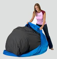 Bean Bag That Turns Into A Bed Moody Nest A Couch For All Moods Apartment Therapy Bean Bag Chairs