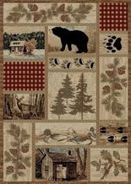 Rustic Lodge Rugs 27 Best Wolves And Wolf Decor Images On Pinterest Rustic Lodge