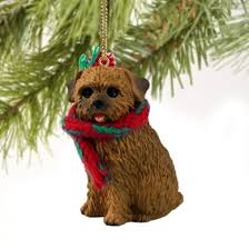 cats and dogs norfolk terrier ornament