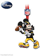 nfl pittsburgh steelers disney ornament collection steelers magic