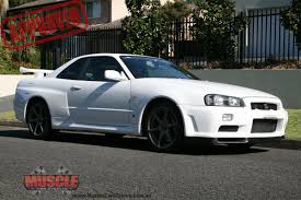 nissan skyline r34 gtr muscle car stables