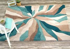 Orange And Brown Area Rug Wonderful Excellent Home Decorating With Turquoise Area Rug