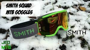 smith motocross goggles smith squad mtb goggles youtube
