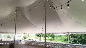 how to string cafe lights rent café lights edison light iowa wedding event lighting